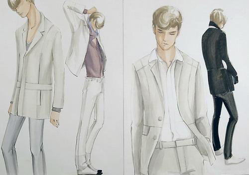 Рисуем модели одежды | Фото программы
